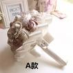 Un semplice nuovo atmosferico diamante mano high-end di perle sposa bouquet