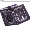 Festival acciaio inossidabile di grado superiore in pelle regalo 10 pezzi Nail Clippers