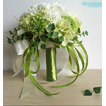 Verde e bianco match ball Seta crisantemo sposa azienda fiori