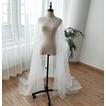 200CM Scialle matrimoniale in tulle con perline scialle scialle da sposa