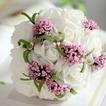 Il bouquet di mano di simulazione fiori bouquet sposa damigella d'onore matrimonio