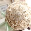 Diamante perla di nozze matrimonio foto decorazione idee layout che tengono i fiori