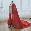 Scialle in chiffon scialle semplice da sposa scialle elegante lungo 2M