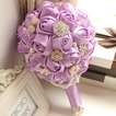 Tema viola personalizzato di High-end wedding bouquet da sposa