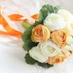 Le spose coreano di peonia bianca a mano huashan Camelia simulazione rosso nozze bouquet