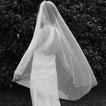 120CM velo di perla da sposa Velo corto accessori da sposa velo