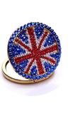 Bandiera nazionale all'ingrosso portatile intarsiato doppia parola diamante piccolo ornamento