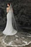 Velo da sposa 3M monostrato con pettine per capelli e velo di pizzo delicato