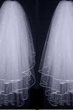 Velo da sposa 3 strati velo da sposa soffice velo da sposa velo corto
