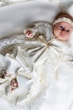 Abito cerimonia bambina Alta Coperta Piccola t Farfalla Ornamento Fiocco Non Specificato