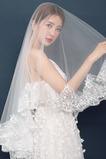 Velo da sposa in pizzo accessori da sposa velo velo corto