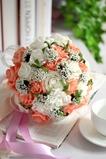 Rose in tutto il fiore decorativo stelle combinazione di cielo