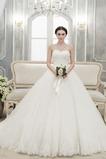 Abito da sposa senza spalline Non Specificato Lungo Farfalla Ornamento
