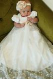 Abito cerimonia bambina moda Tubino bordo rialzato Pieghe Corpetto Raso Mezza Coperta
