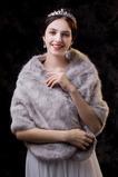 Scialle da sposa scialle caldo matrimonio invernale