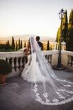 Velo da sposa in pizzo velo da cattedrale velo da sposa accessori abito da sposa