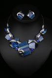 Vendita fiori cristallo calda donne argento collana