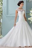 Abito da sposa maniche ad aletta Naturale Ball Gown Chiesa Maniche Corte