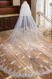 Velo perlato cattedrale velo da sposa di lusso velo da sposa