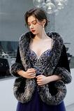 Cappotto abito da sposa scialle scialle imitazione pelliccia calda matrimonio invernale