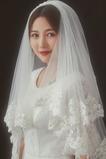Velo da sposa in pizzo velo corto velo ricamato in pizzo