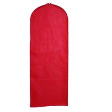 Matrimonio vestito parapolvere rosso solido antipolvere copertura parapolvere