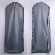 Trasparente vestito d'argento Wan parapolvere sacchetto abito grandi set di abiti da sposa