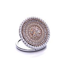 Grado superiore cerchio croce metallo intarsiato diamante ornamento piccolo annuncio