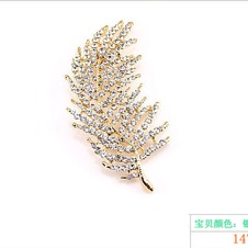 foglio dell'albero-partita della lega all'ingrosso gioielli spilla