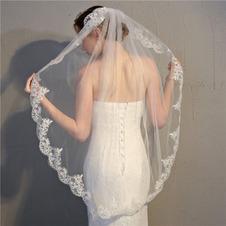 Accessori da sposa velo da sposa in pizzo velo con pettine