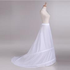 Da sposa sottoveste Finali Elastico in vita Regolabile Taffetà di poliestere