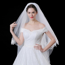 Velo da sposa velo corto coprente velo velo bianco