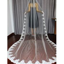 Velo da sposa sposa cattedrale velo velo applique 3M