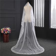 Velo di paillettes in pizzo accessori da sposa velo da sposa fatto a mano di lusso velo da sposa