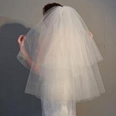 Semplice velo da sposa velo corto velo da sposa economico
