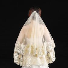 Nuovo velo da sposa in pizzo di pizzo velo svizzero velo da sposa da sposa