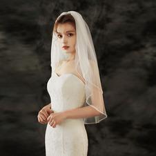 Velo da sposa moda diamante cucito a mano accessori da sposa velo foto velo