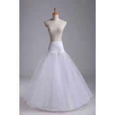 Da sposa sottoveste Alla moda Elastico in vita Spandex Materiale elastico