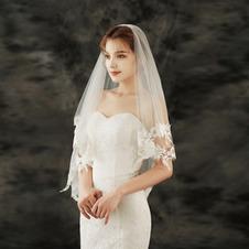 Velo da sposa in pizzo velo da sposa corto da sposa con accessori da sposa velo pettinato