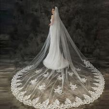Tailing velo da sposa accessori da sposa velo squisito pizzo applique velo lace