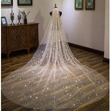 Velo da sposa super lungo velo da sposa stellato velo