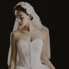 Velo stile cappello retrò velo di pizzo tempestato di diamanti accessori da sposa velo