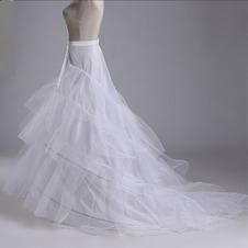 Da sposa sottoveste Abito da sposa Filato doppio Net forte Finali Tre cerchi
