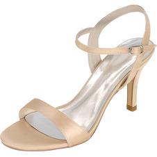 Sandali da sposa Prom Scarpe con tacco a spillo e tacchi alti