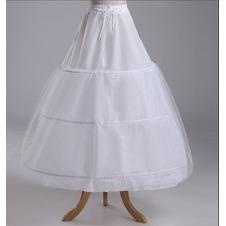 Da sposa sottoveste Lungo Taffetà di poliestere Stringa Regolabile Standard