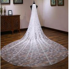 4M moda velo da sposa stellato da sposa nuovo velo da sposa