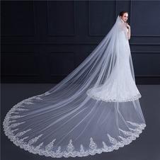 Nuovo stile lungo velo da sposa velo da sposa velo di paillettes velo squisito 3M