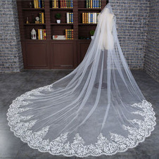 velo da sposa lungo velo da sposa squisito velo da sposa grande velo di coda