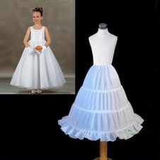 Da sposa sottoveste Tre cerchi Taffetà di poliestere Standard Alla moda