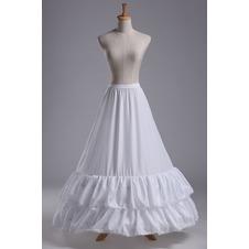 Da sposa sottoveste Sirena Alla moda Abito da sposa Pizzi di cantu Due cerchi